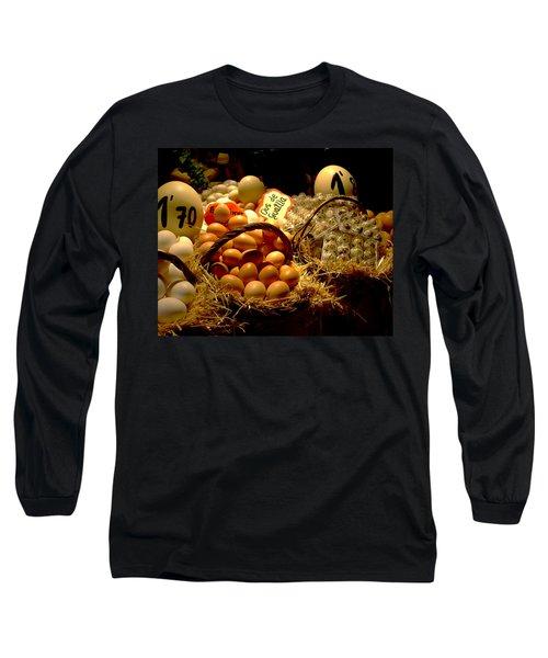 Long Sleeve T-Shirt featuring the photograph Mercat De La Boqueria by Lisa Phillips