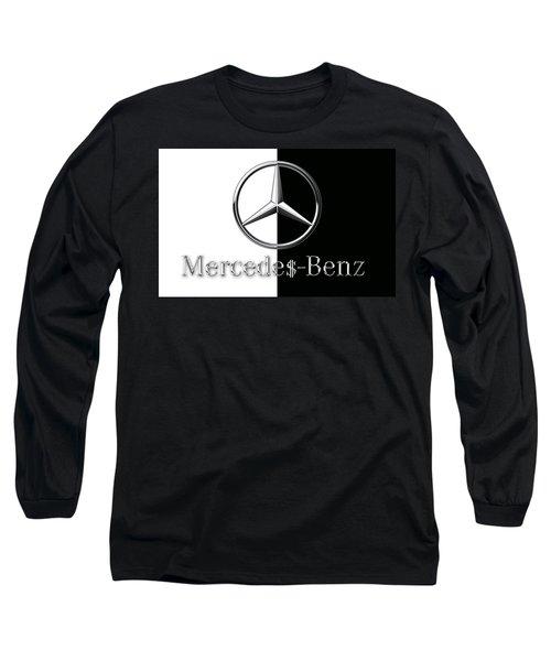 Mercedes-benz Logo Long Sleeve T-Shirt