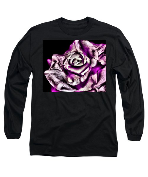 Mesmerizing Rose Long Sleeve T-Shirt