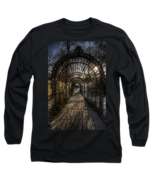 Metal Garden Long Sleeve T-Shirt by Nathan Wright
