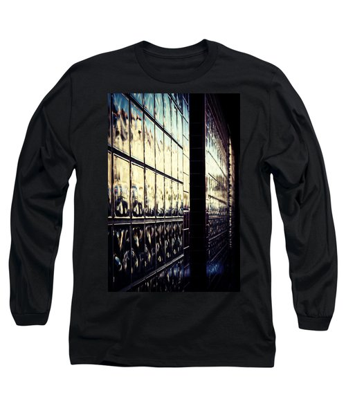 Metallic Reflections Long Sleeve T-Shirt by Melanie Lankford Photography