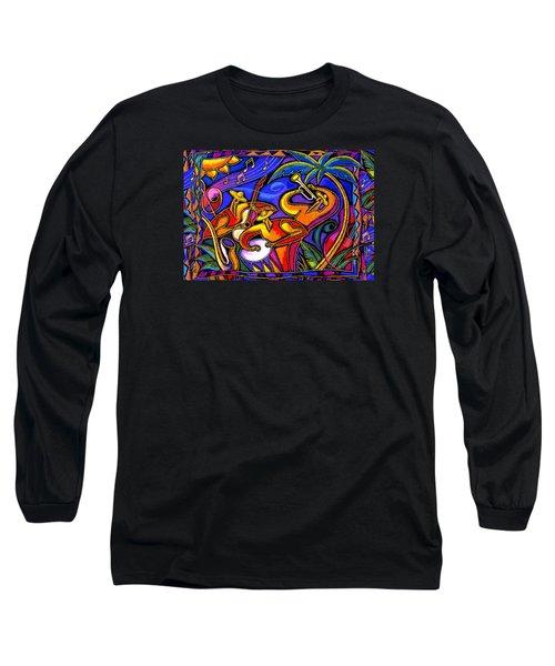 Latin Music Long Sleeve T-Shirt
