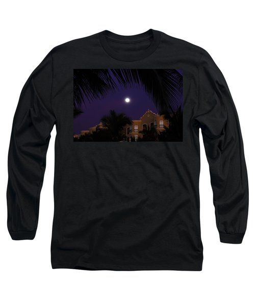 Mexico Moon Long Sleeve T-Shirt