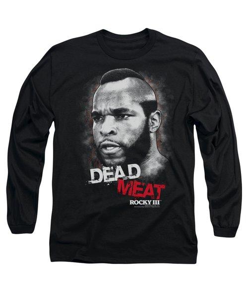 Mgm - Rocky IIi - Dead Meat Long Sleeve T-Shirt