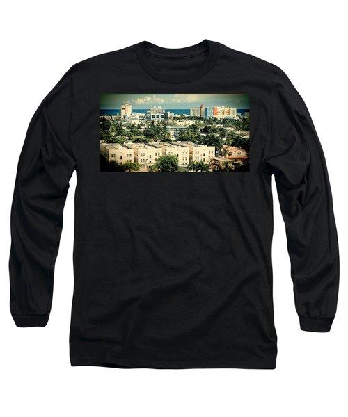 Miami Beach-0156 Long Sleeve T-Shirt