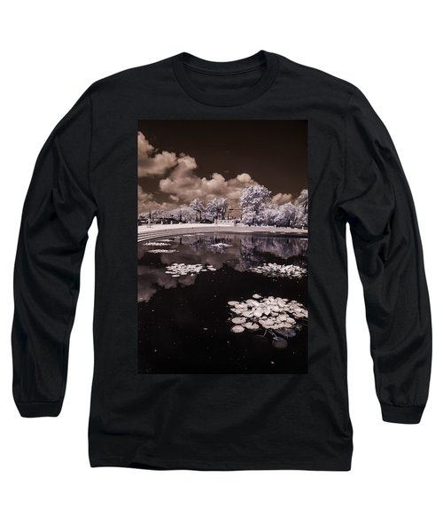 Miami Beach Lake Long Sleeve T-Shirt