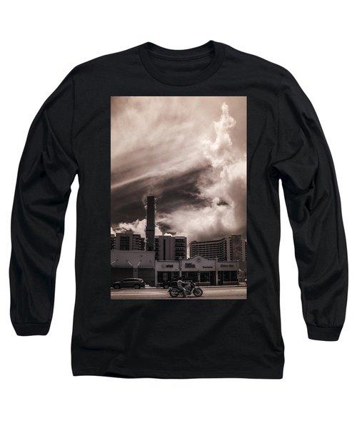 Miami Beach Sky Long Sleeve T-Shirt