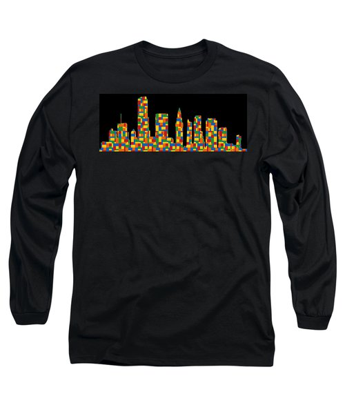 Miami Skyline 2 Long Sleeve T-Shirt