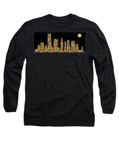 Miami Skyline 3 Long Sleeve T-Shirt