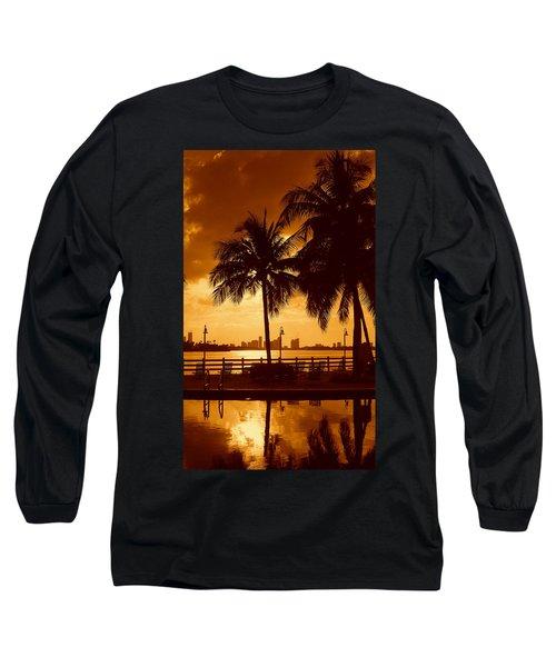 Miami South Beach Romance II Long Sleeve T-Shirt