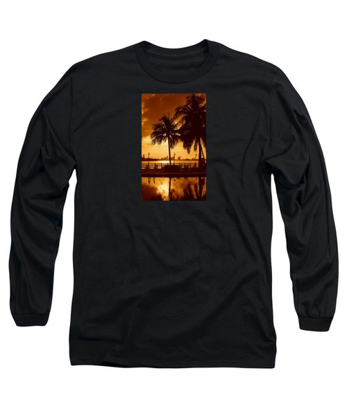 Miami South Beach Romance II Long Sleeve T-Shirt