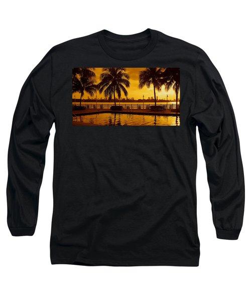 Miami South Beach Romance Long Sleeve T-Shirt