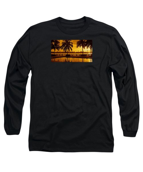 Miami South Beach Romance Long Sleeve T-Shirt