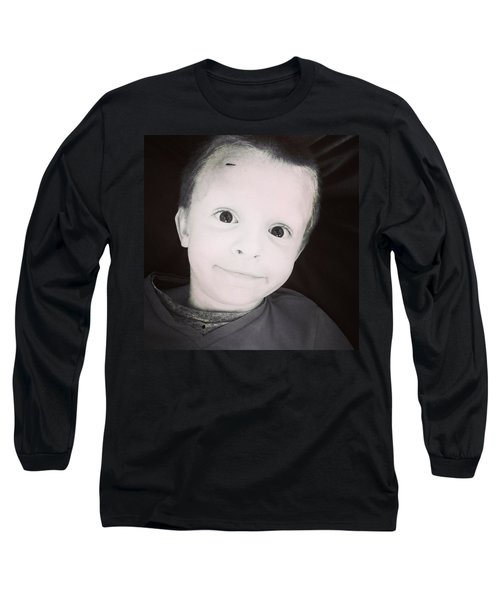 Micah Being Goofy Long Sleeve T-Shirt