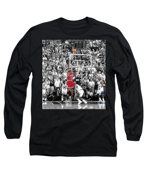 Michael Jordan Buzzer Beater Long Sleeve T-Shirt