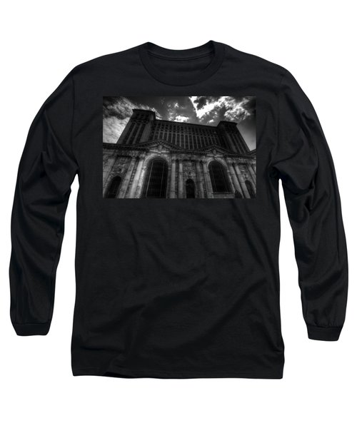 Michigan Central Station Highrise Long Sleeve T-Shirt