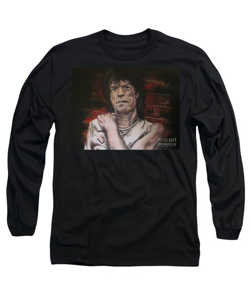 Mick Jagger - Street Fighting Man Long Sleeve T-Shirt