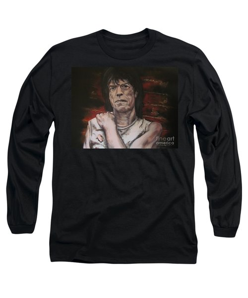 Mick Jagger - Street Fighting Man Long Sleeve T-Shirt
