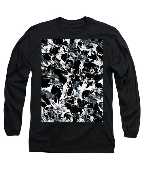 Microscopic Alien Fish Are Eating Away At My Brain Long Sleeve T-Shirt