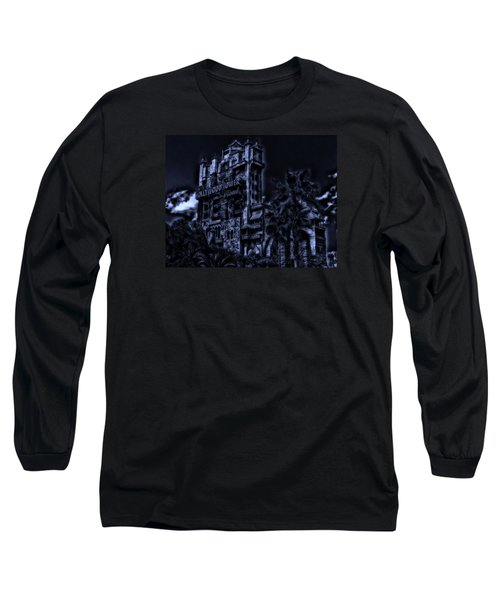 Midnight At The Tower Of Terror Long Sleeve T-Shirt
