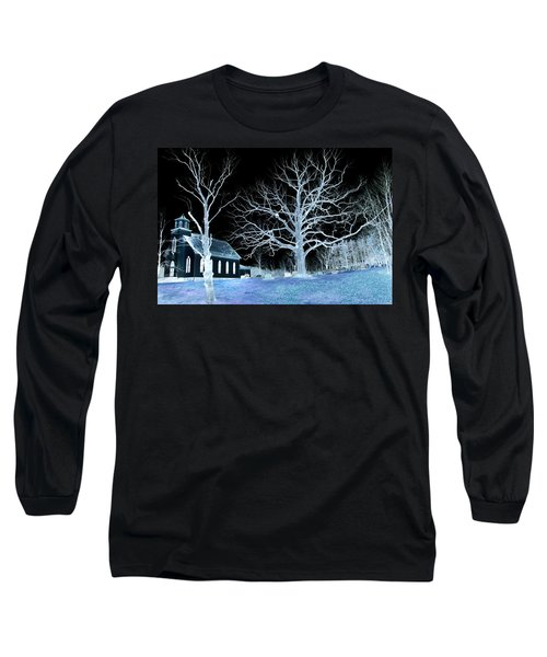 Midnight Country Church Long Sleeve T-Shirt