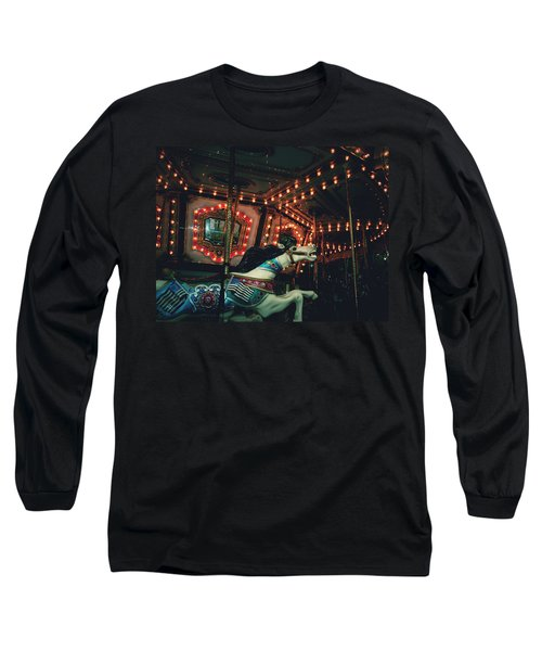 Midnight Dream Long Sleeve T-Shirt by Rachel Mirror