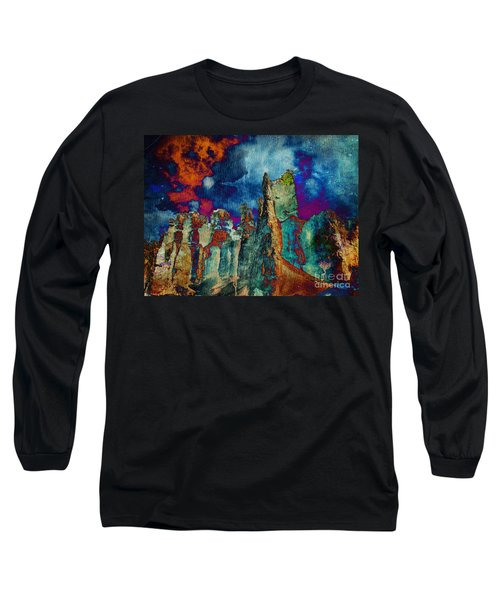 Midnight Fires Long Sleeve T-Shirt