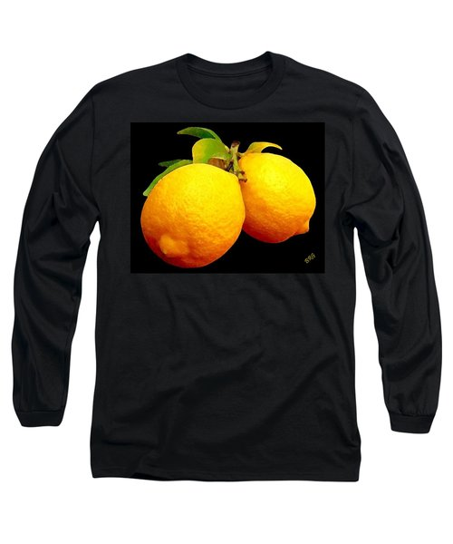 Midnight Lemons Long Sleeve T-Shirt