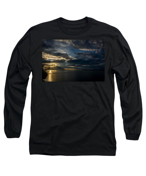 Midnight Sun Over Cook Inlet Long Sleeve T-Shirt