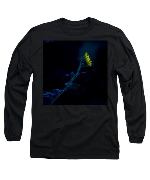 Midnight Sunflower Long Sleeve T-Shirt
