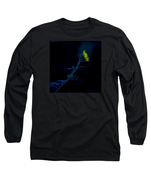 Midnight Sunflower Long Sleeve T-Shirt