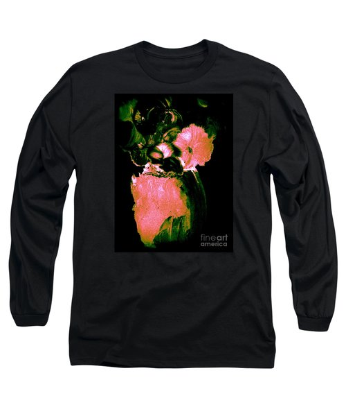 Long Sleeve T-Shirt featuring the painting Midnight Visit by Bill OConnor