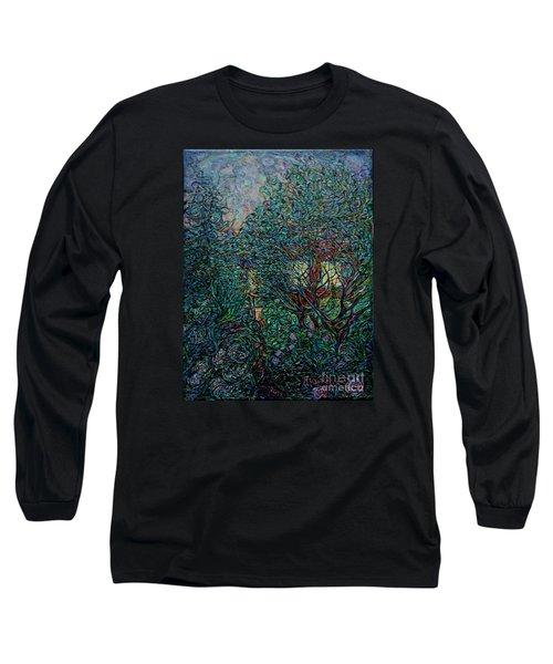 Midsummer Night Long Sleeve T-Shirt by Anna Yurasovsky