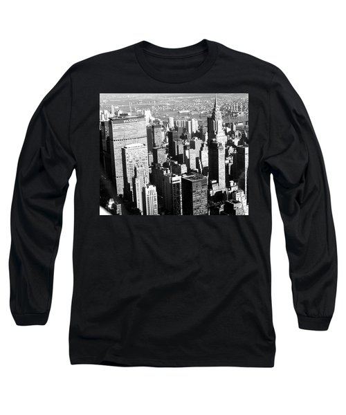 Midtown Manhattan 1972 Long Sleeve T-Shirt