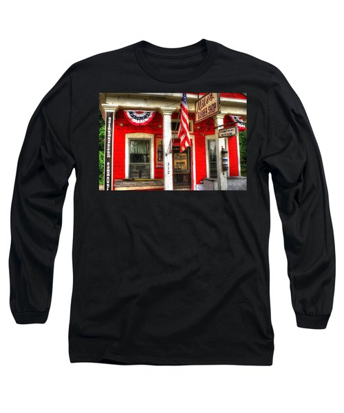 Mike's Barber Shop Long Sleeve T-Shirt