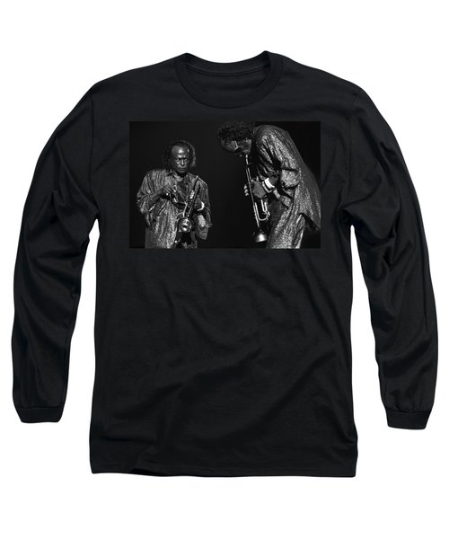 Miles Davis Long Sleeve T-Shirt