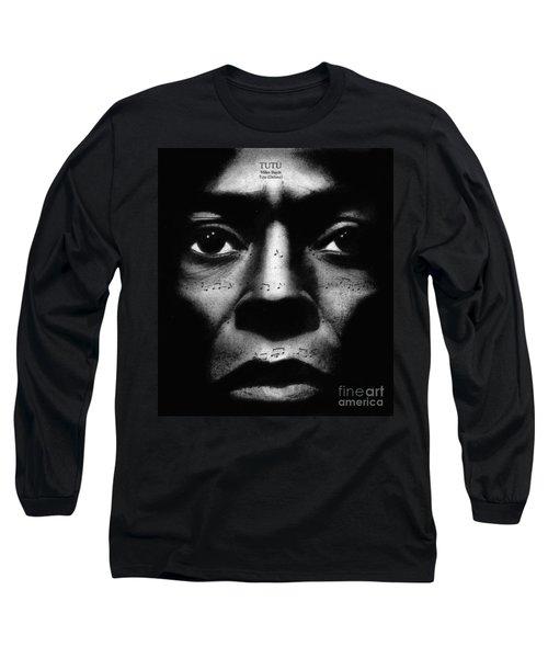 Miles Davis Tutu Long Sleeve T-Shirt