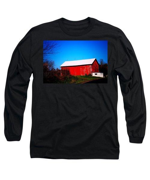 Milk House And Barn Long Sleeve T-Shirt