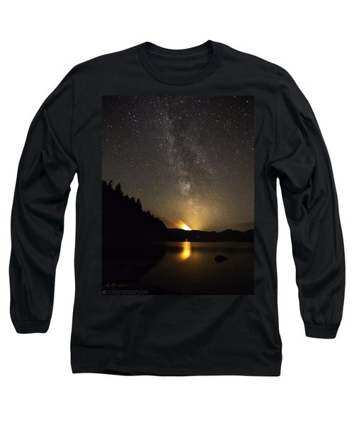 Milky Way At Crafnant 2 Long Sleeve T-Shirt