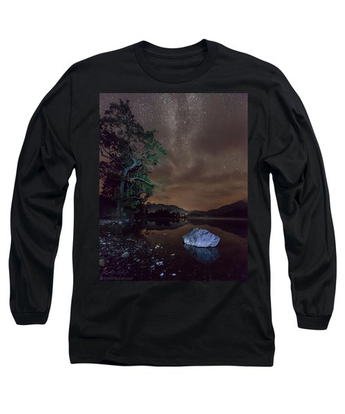 Milky Way At Gwenant Long Sleeve T-Shirt