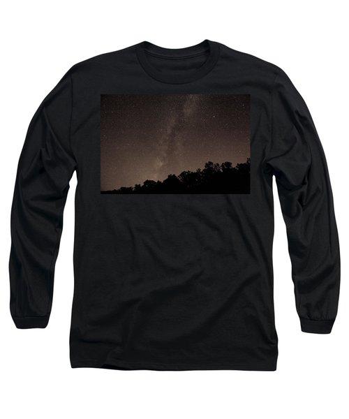 Milky Way Long Sleeve T-Shirt by Richard Engelbrecht