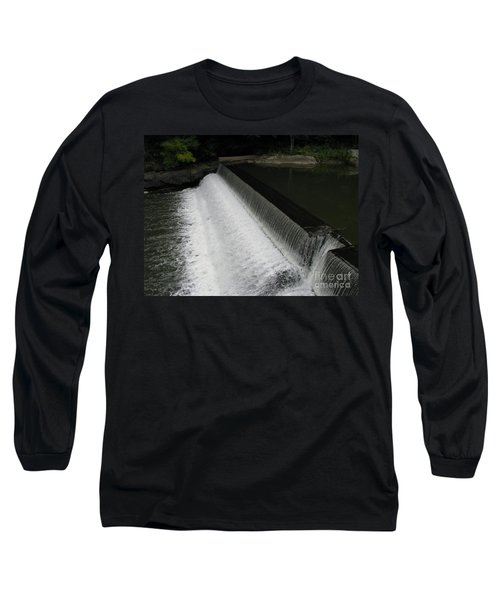Mill On The River Long Sleeve T-Shirt by Michael Krek