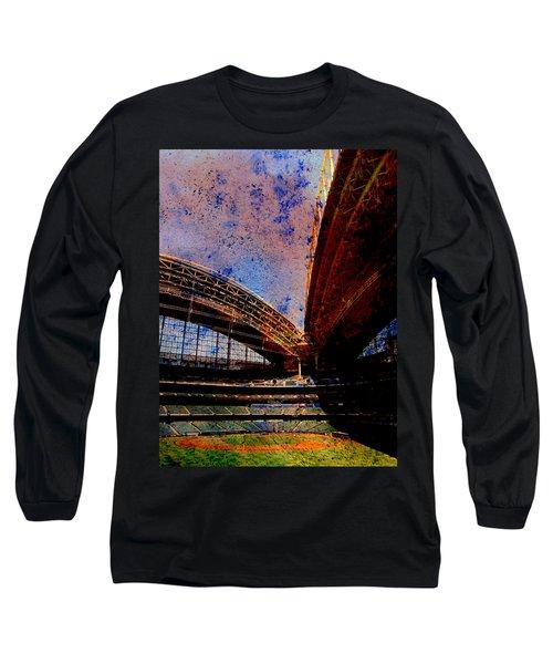 Miller Park 2 W Paint Long Sleeve T-Shirt
