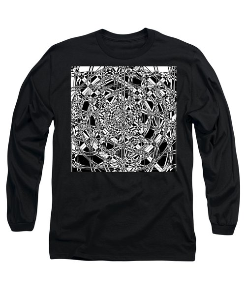 B W Sq 7 Long Sleeve T-Shirt