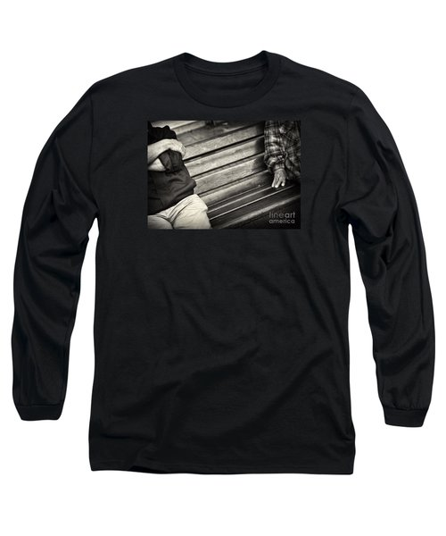 Mind The Gap Long Sleeve T-Shirt by Michel Verhoef