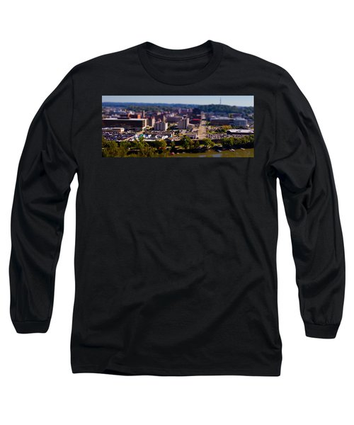 Mini Downtown Parkersburg Long Sleeve T-Shirt by Jonny D