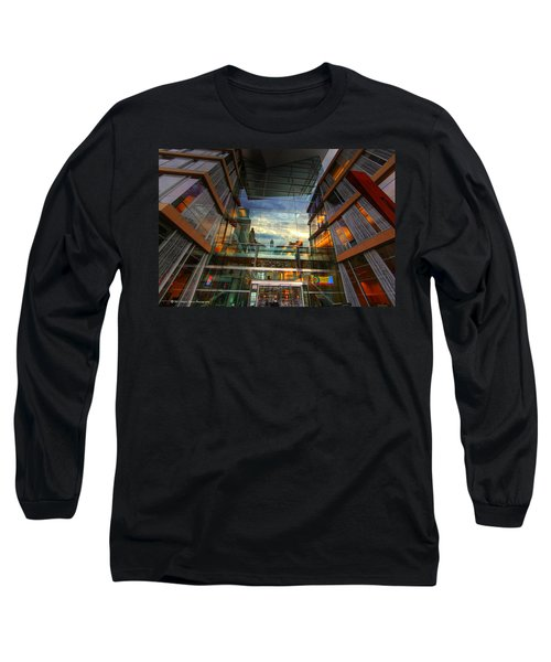 Minneapolis Skyline Images Central Library Long Sleeve T-Shirt