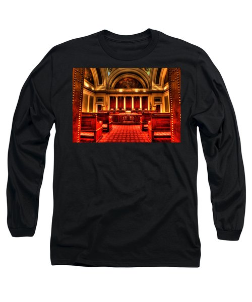 Minnesota Supreme Court Long Sleeve T-Shirt by Amanda Stadther