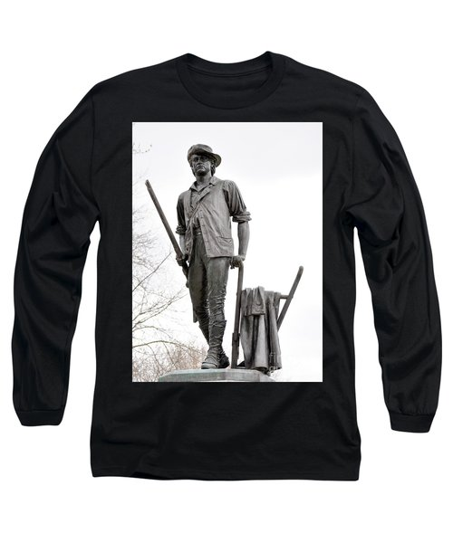 Minute Man Statue Long Sleeve T-Shirt