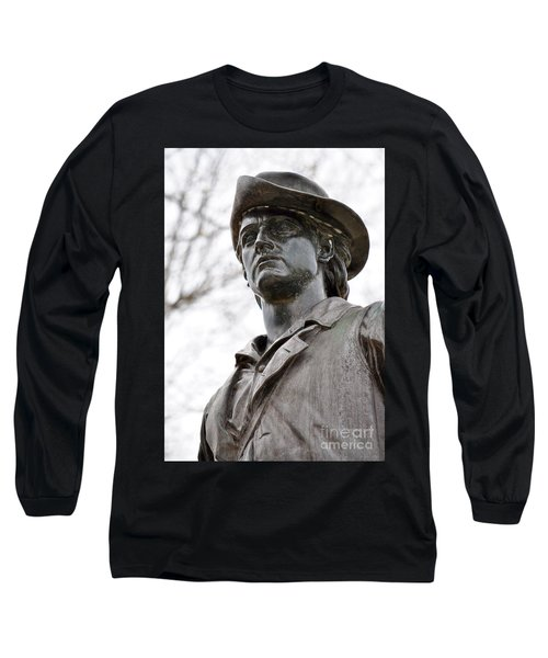 Minute Man Statue 3 Long Sleeve T-Shirt